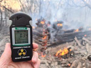 Incendio en las cercanías de Chernóbil provocó el aumento de la radiactividad en la zona