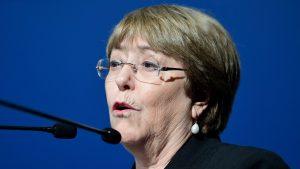 Michelle Bachelet saludó a los trabajadores de la salud por su tarea contra el coronavirus