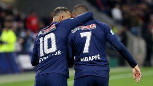 Mbappé y Neymar se bajan el sueldo a la mitad