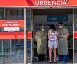 """Doctor Bernucci por coronavirus: """"Ahora la mayoría de los pacientes se encuentran en los hospitales públicos"""""""