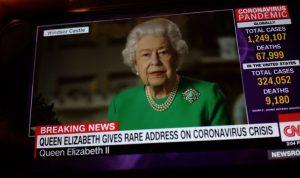 Isabel II se dirigió a su nación por quinta vez en su reinado debido al coronavirus