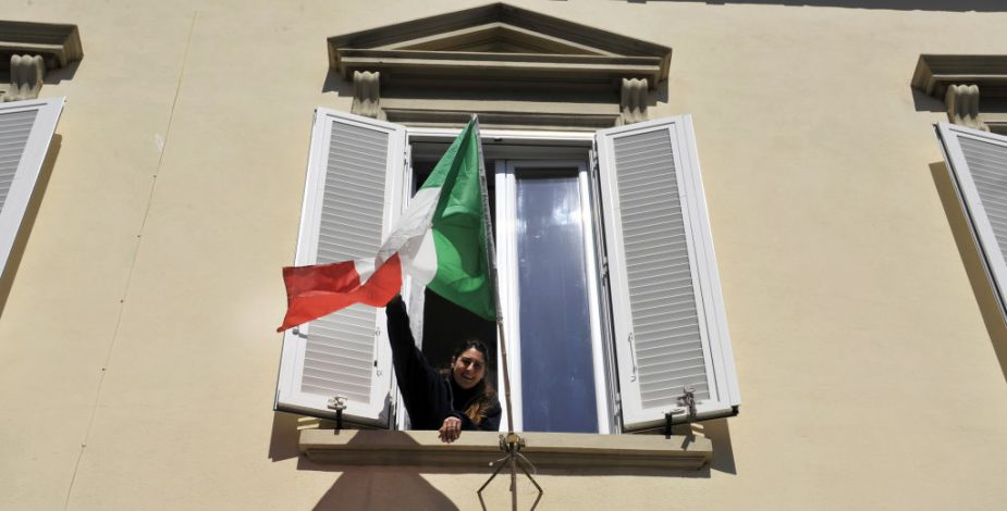 Récord de pacientes recuperados de coronavirus en Italia
