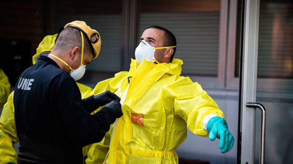 España registró 683 muertos por coronavirus en las últimas 24 horas