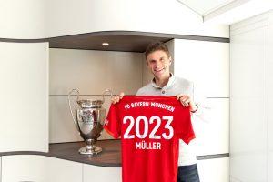 Thomas Müller renovó en el Bayern Múnich hasta el 2023
