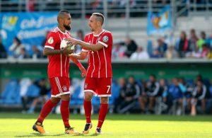"""Arturo Vidal felicitó a su """"hermanito"""" Franck Ribéry por su cumpleaños 37"""