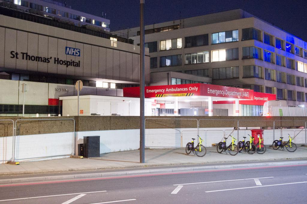 El Hospital Saint Thomas de Londres