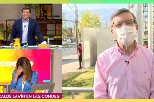 Monserrat Álvarez se arrepintió de hacerle íntima consulta a Joaquín Lavín en Contigo en la Mañana