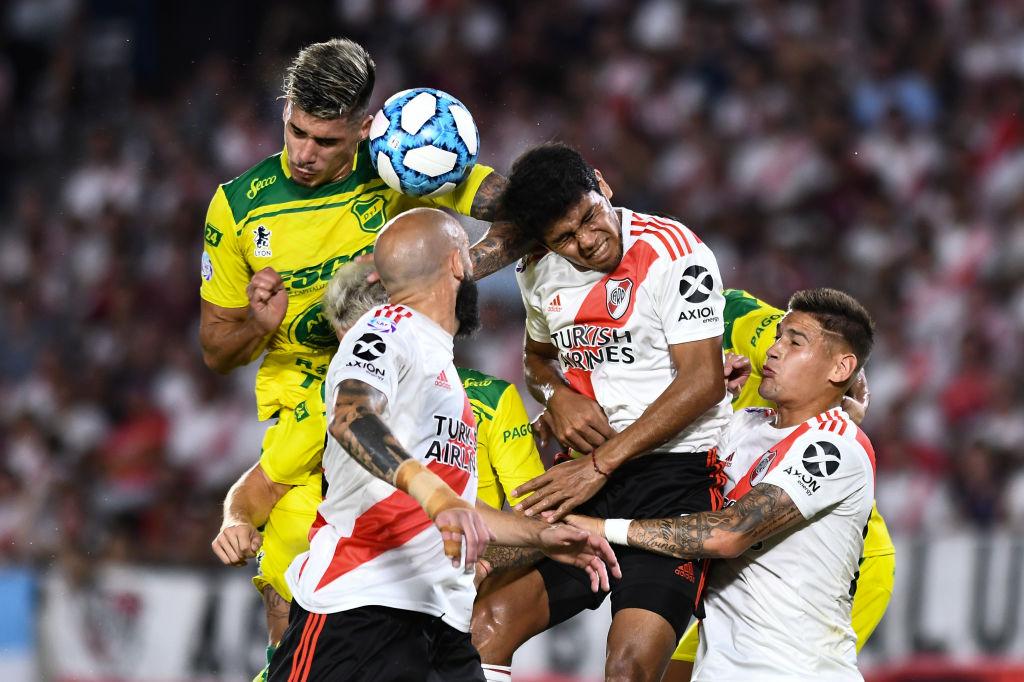 River Plate enfrenta a Defensa y Justicia en la Liga de Argentina