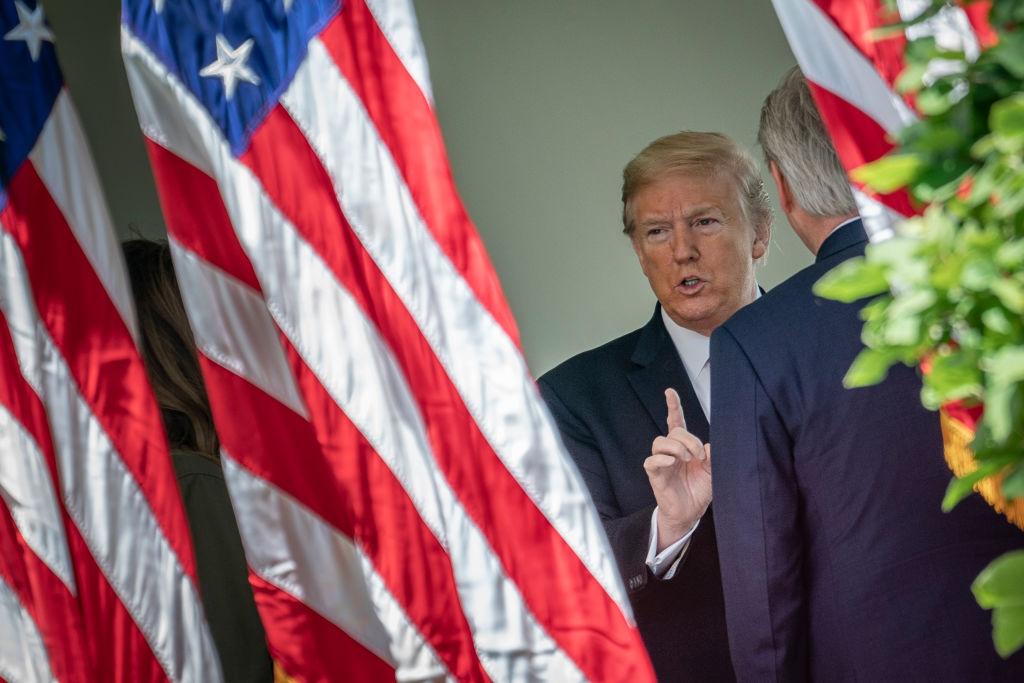 El gobernante republicano Donald Trump