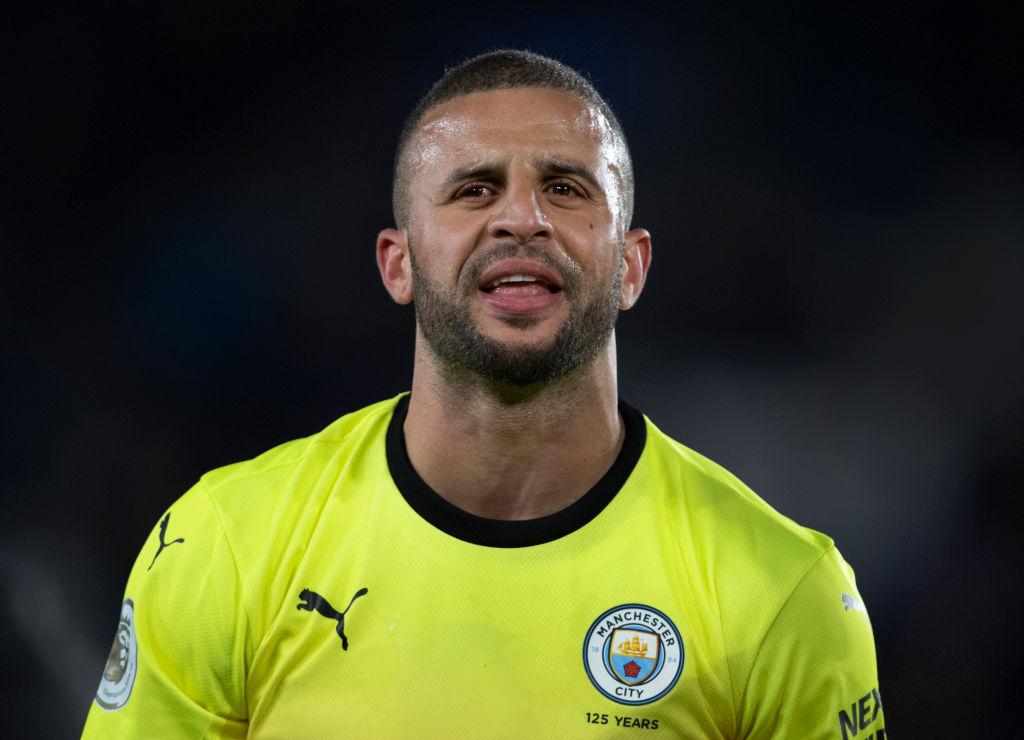 El defensor inglés Kyle Walker de Manchester City