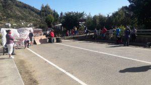 Covid-19: Habitantes de Huape y Chaihuín se tomaron ruta para que no ingresen turistas