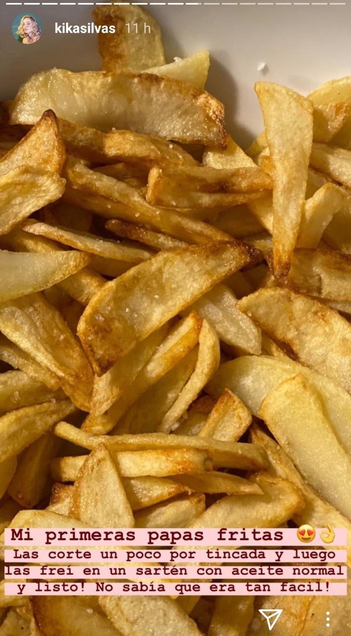 Las papas fritas de Kika Silva