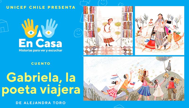 """Escucha y mira """"Gabriela, la poeta Viajera"""", de Alejandra Toro"""