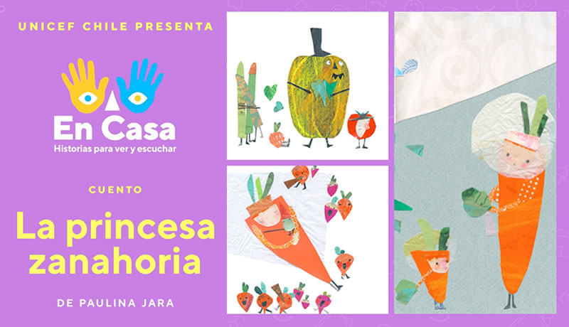 """Mira y escucha aquí """"La Princesa Zanahoria"""", de Paulina Jara"""