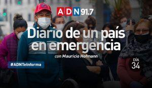 Diario de un país en emergencia - Día 34