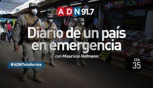 Diario de un país en emergencia - Día 35