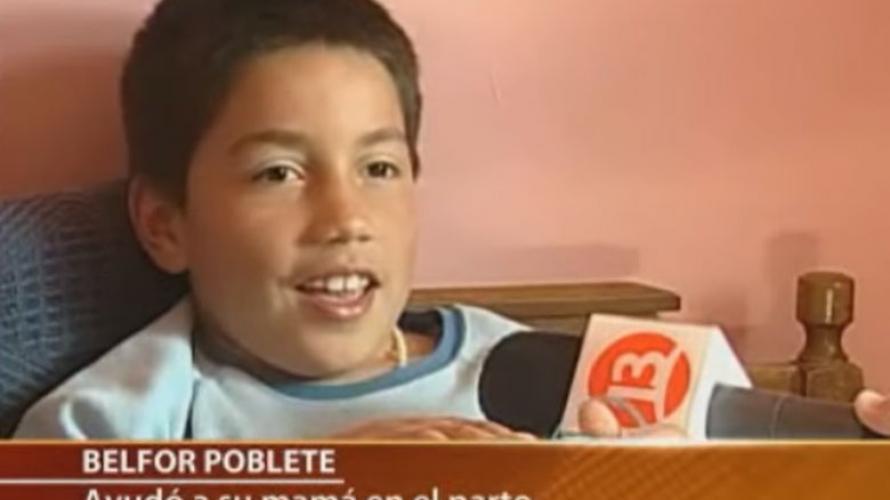 """Así de grande está Belfor, el niño que protagonizó el viral chileno de """"La mea volaita"""""""