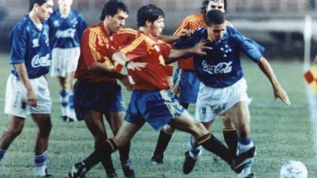Mario Lucca recordó la victoria de Unión Española ante Cruzeiro por los  octavos de final de la Copa Libertadores en 1994