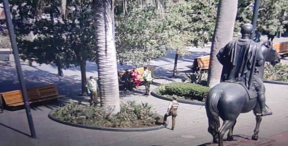 Mujer contagiada de coronavirus salió a pasear por Plaza de Armas - Contigo en La Mañana