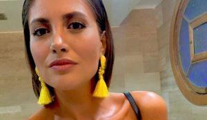 Karen Bejarano sufrió robo con intimidación en servicentro de Bellavista