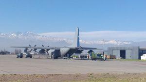 Personal militar realizó traslado de pacientes críticos con Covid-19 desde Santiago a Concepción