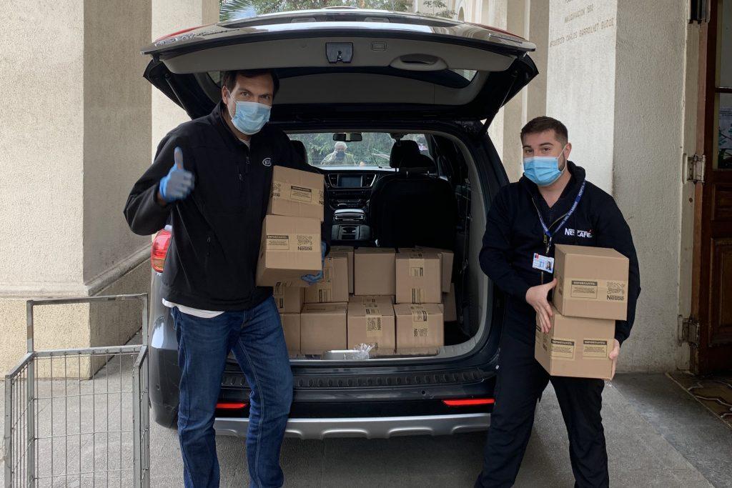 Marcas entregan alimentos a equipos de salud ante crisis del COVID-19