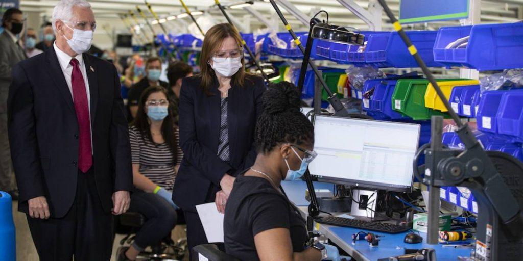 Automotora entrega los primeros respiradores