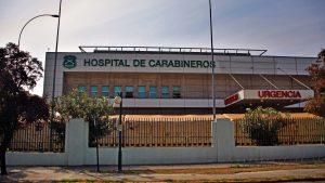"""Carabineros desmintió que el hospital de la institución esté desocupado: """"Aumentó sus camas críticas y las puso a disposición"""""""