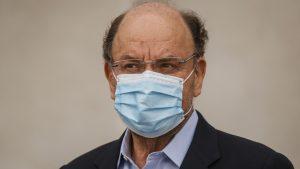 Ministro de Obras Públicas, Alfredo Moreno, dio positivo de coronavirus Covid-19