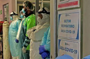 """Enfermera Moris Fransoni: """"Está siempre el miedo de contagiar con el virus a tus seres queridos"""""""