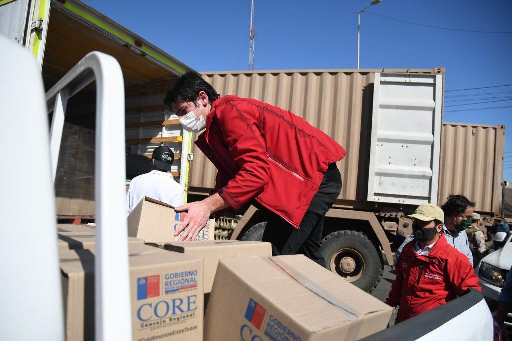 """Intendente de Antofagasta y crisis sanitaria en la zona: """"La entrega de cajas de alimentos no es una solución eterna. La balanza es compleja de mantener"""""""