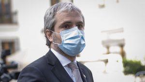 """Blumel por incidentes y manifestaciones en plena pandemia: """"Vamos a ser muy inflexibles"""""""