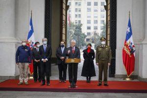 Presidente Piñera repasó políticas de seguridad pública y presentó nuevas tecnologías