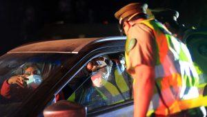 Carabineros reportó un descenso en las detenciones por quebrantar el toque de queda