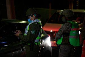 Carabineros reportó más de 1.200 detenidas en las últimas 24 horas