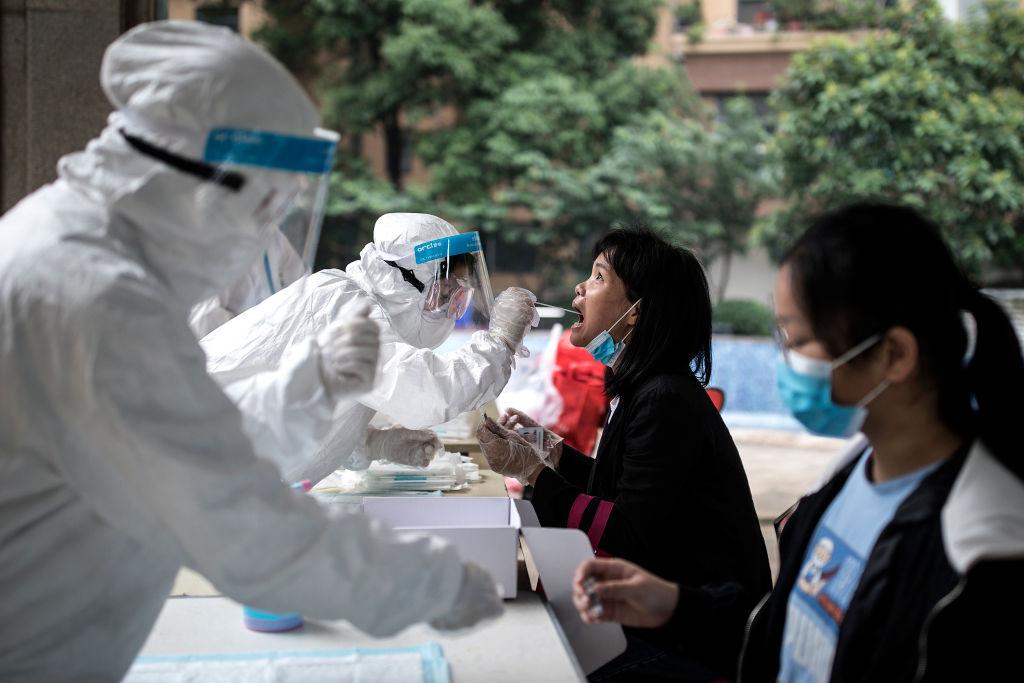 El testeo masivo que se desarrolla en Wuhan