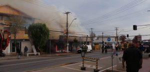 Conocido restaurant de la comuna de El Quisco quedó completamente destruido tras violento incendio