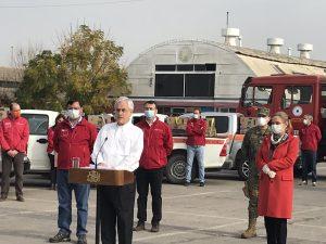 """Presidente Piñera y canastas de alimentos: """"Vamos a acelerar el ritmo de distribución"""""""