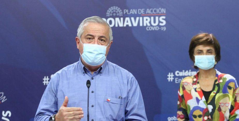 Minsal entrega un nuevo preocupante balance: 53 fallecidos por coronavirus
