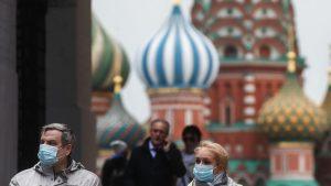 Rusia sumó casi nueve mil casos nuevos de Covid-19 en las últimas 24 horas