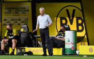 El entrenador del Borussia Dortmund desmintió la posibilidad de dejar el cargo
