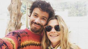 Francisco Puelles y Montserrat Ballarin mostraron lo avanzado que está su embarazo con potente reflexión