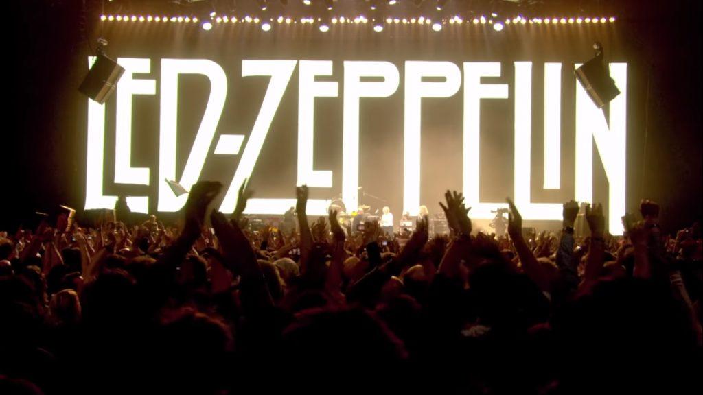 Led Zeppelin presentará concierto-película vía streaming en Youtube