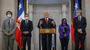 """Presidente Piñera llamó a un """"gran acuerdo nacional"""" entre todos los sectores para enfrentar el Covid-19"""