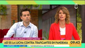 """Humberto Sichel y trabajar en el matinal con Macarena Pizarro: """"Animar con ella es súper cómodo"""""""