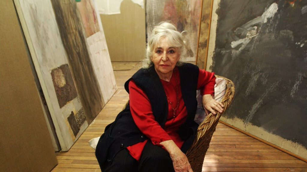 A los 92 años falleció Gracia Barrios, destacada pintora y Premio Nacional de Artes Plásticas 2011
