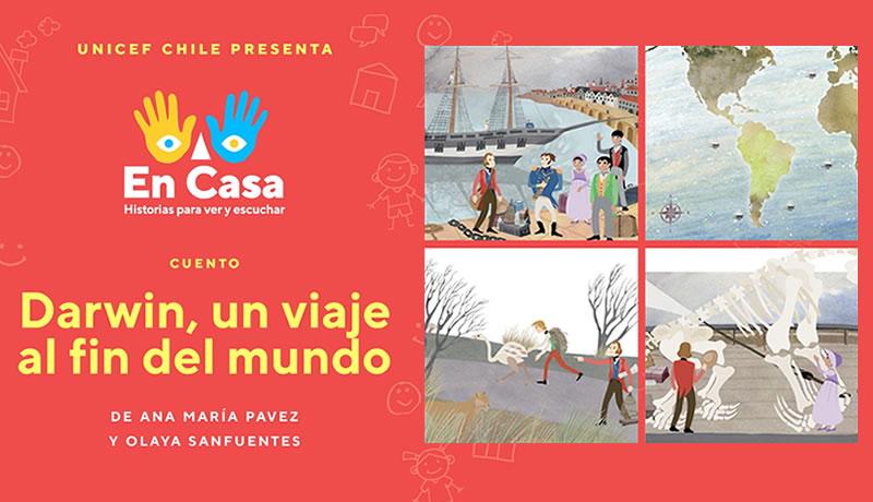 """Mira """"Darwin, Un viaje al fin del mundo"""", de Ana María Pavez y Olaya Sanfuentes"""