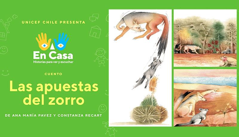 """Escucha """"Las apuestas del zorro"""", de Ana María Pavez y Constanza Recart"""