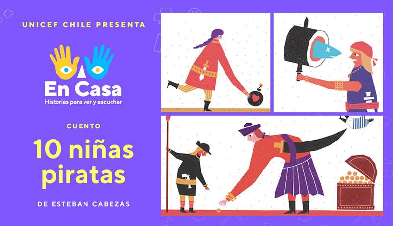"""Vuelve a ver y escuchar """"10 Niñas Piratas"""" de Esteban Cabezas"""