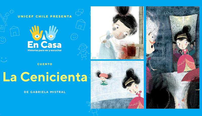 """Mira y escucha """"La Cenicienta"""", de Gabriela Mistral"""